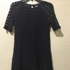 Forever 21 Contemproary Floral Lace A Line Dress